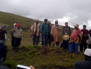 Lideres comunales Conga - Transparencia Digital en el Perú