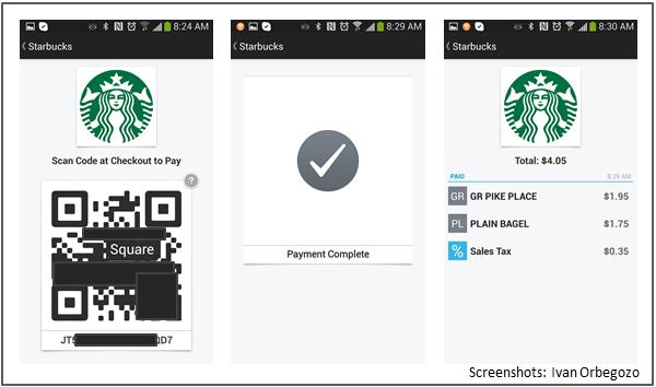 Square Wallet en Starbucks - 2