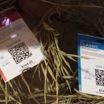 Etiquetas con código QR y NFC